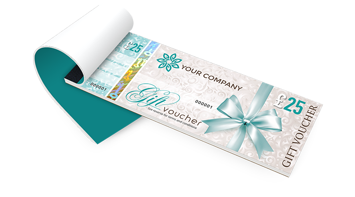 Gift Voucher Printing – Sample Vouchers